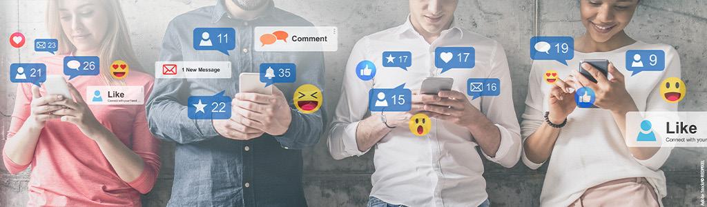 Gut aussehen in sozialen Netzwerken